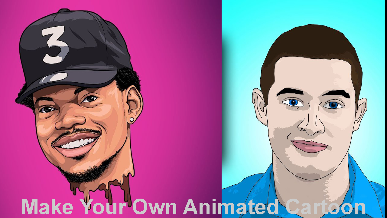Make Your Own Animated Cartoon Character In A Blink